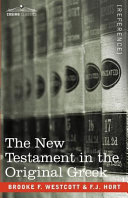 Pdf The New Testament in the Original Greek Telecharger