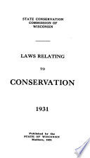 Laws Relating to Conservation  1931