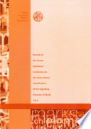 Records of the Vienna Diplomatic Conference on the International Classification of the Figurative Elements of Marks, 1973