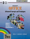 Microsoft Office Advanced Concepts and Techniques