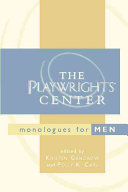 The Playwrights Center Monologues For Men