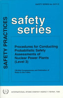 Procedures for Conducting Probabilistic Safety Assessments of Nuclear Power Plants (level 3)