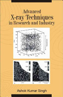 Advanced X-ray Techniques in Research and Industry
