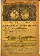 L'esploratore giornale di viaggi e di geografia commerciale