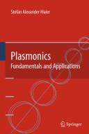 Plasmonics  Fundamentals and Applications Book