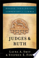 Judges Ruth Brazos Theological Commentary On The Bible