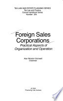 Foreign sales corporations