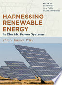 Harnessing Renewable Energy In Electric Power Systems Book PDF