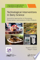 Technological Interventions in Dairy Science Book