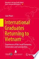 International Graduates Returning To Vietnam
