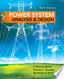 Power System Analysis And Design Book PDF