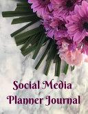 Social Media Planner Journal