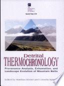 Detrital thermochronology