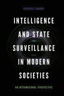 Intelligence and State Surveillance in Modern Societies Pdf/ePub eBook