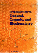 Introduction to General  Organic and Biochemistry Book