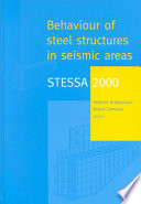 STESSA 2000: Behaviour of Steel Structures in Seismic Areas