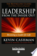 Leadership from the Inside Out Book