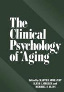The Clinical Psychology of Aging