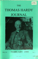 The Thomas Hardy Journal
