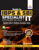 Guide to IBPS & SBI Specialist IT Officer Scale I Exam with 3 Online Practice Sets - 7th Edition Pdf/ePub eBook