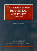 2001 Supplement to Immigration Law