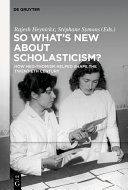 Pdf So What's New About Scholasticism? Telecharger