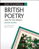 Encyclopedia of British Poetry  1900 to the Present