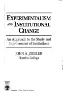 Experimentalism and Institutional Change