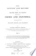 Public opinion and record of educated  titled and talented perpetrators of crime and injustice Book PDF