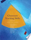 Classroom Teaching Skills Book