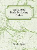 Advanced Bash Scripting Guide Pdf/ePub eBook
