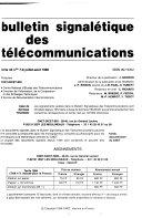 Bulletin signalétique des télécommunications