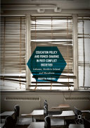 Education Policy and Power-Sharing in Post-Conflict Societies Pdf/ePub eBook