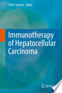 Immunotherapy of Hepatocellular Carcinoma