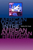 African Voices in the African American Heritage