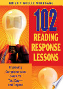 102 Reading Response Lessons Book