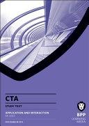 CTA - Application and Interaction (FA2012) Study Text