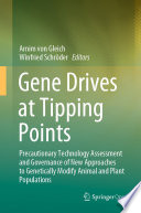 Gene Drives at Tipping Points