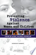 Preventing Violence Against Women And Children Book PDF