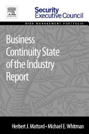 Business Continuity State of the Industry Report Book
