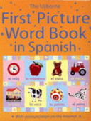 First Picture Word Book in Spanish