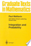 Integration and Probability Book