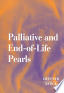 Palliative and End of life Pearls