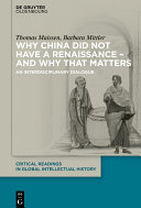 Why China did not have a Renaissance – and why that matters [Pdf/ePub] eBook