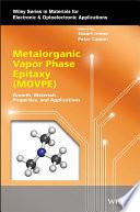 Metalorganic Vapor Phase Epitaxy  MOVPE