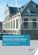 Structural Analysis of Historical Constructions  Anamnesis  Diagnosis  Therapy  Controls Book
