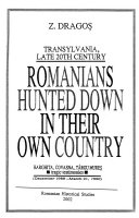 Romanians Hunted Down in Their Own Country Book