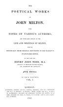 Pdf The Poetical Works of John Milton