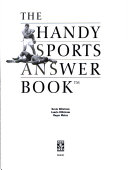 The Handy Sports Answer Book