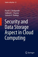 Security And Data Storage Aspect In Cloud Computing Book PDF